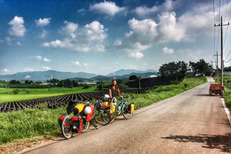 cycling in korea