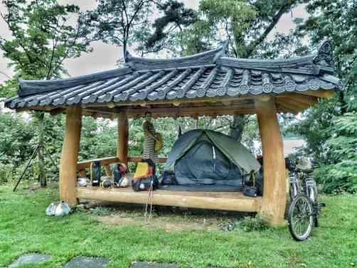 free camping Korea