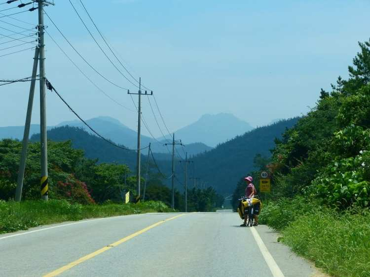 cycling South Korea