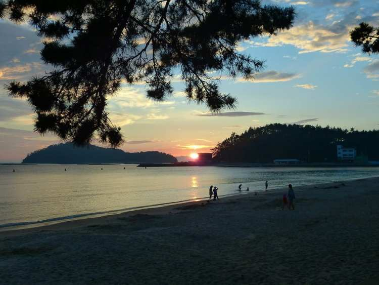 best beach south korea