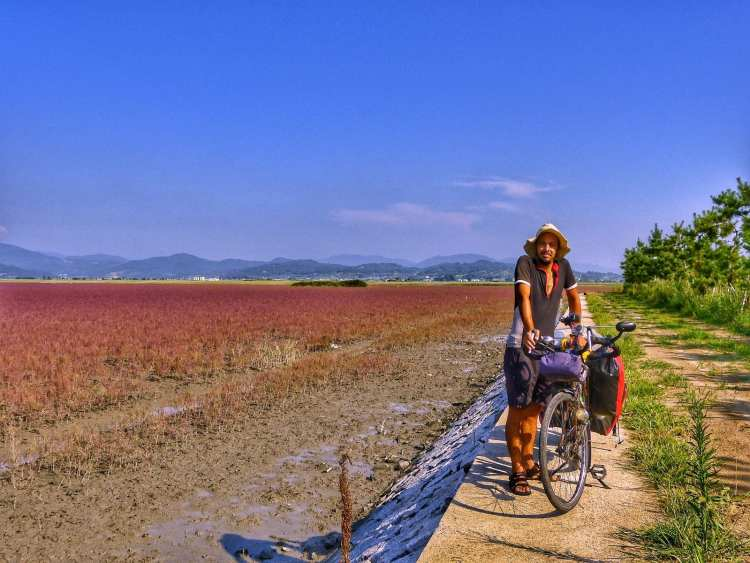 bicycle touring Yeosu