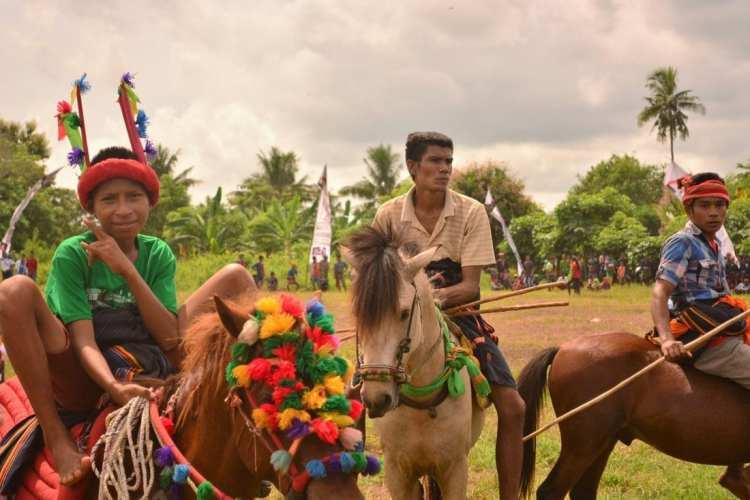 Pasola horse festival Sumba indonesia