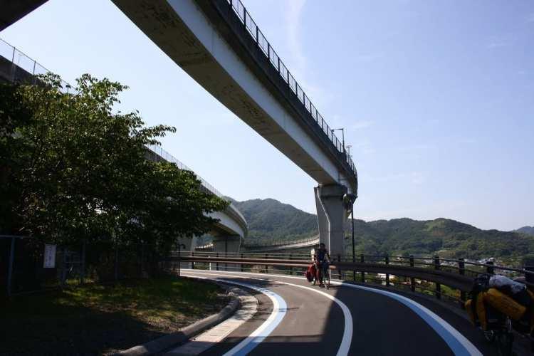 bicycle touring Shikoku