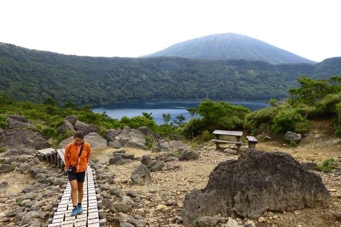 volcano itinerary kyushu Japan