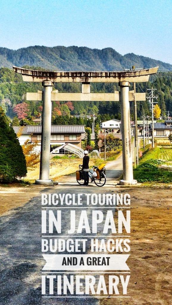Bike Touring Japan