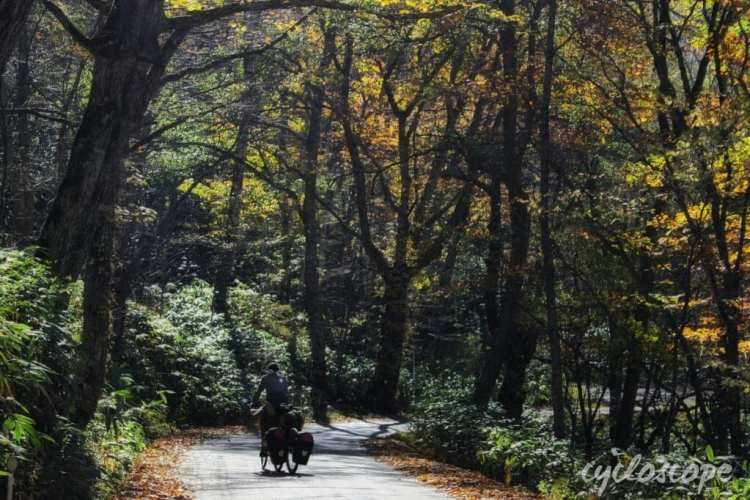 bicycle touring Japan