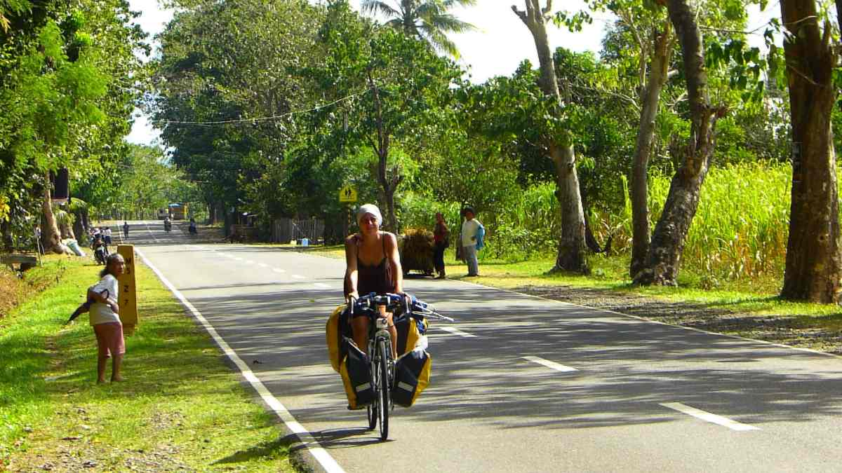Bicycle touring philippines