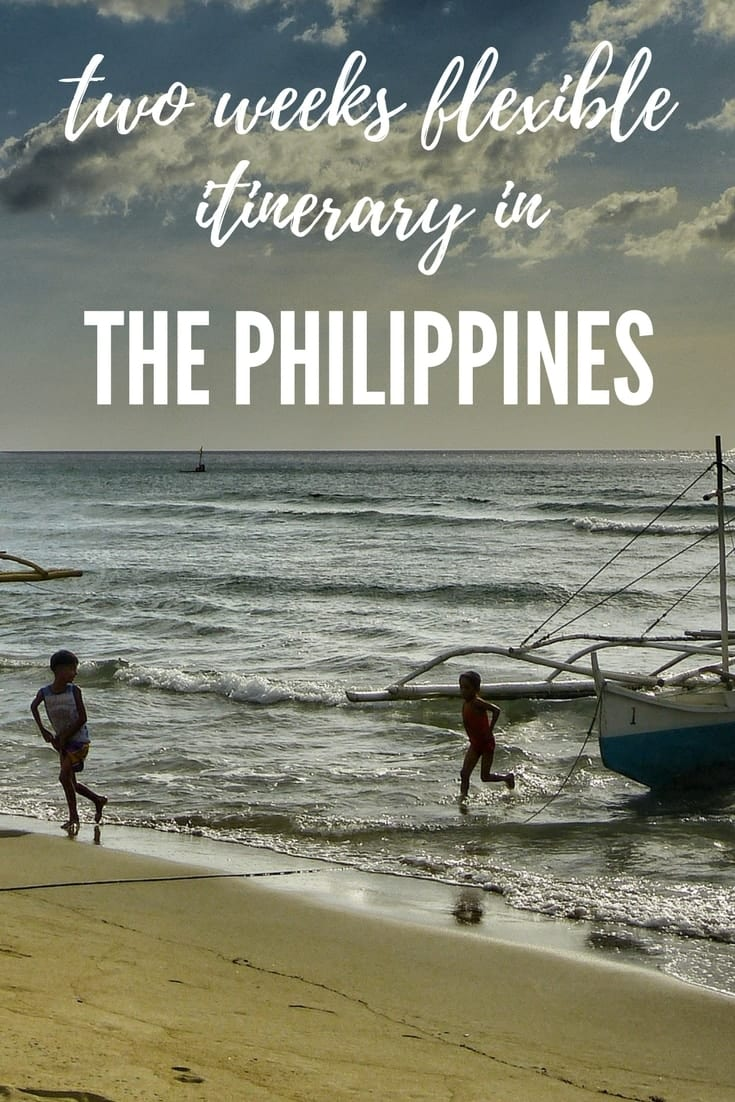 Philippines two weeks Itinerary