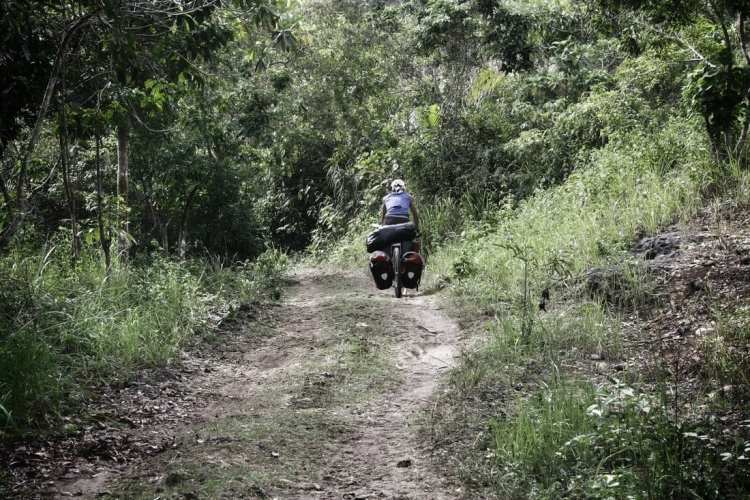 bicycle touring Bohol Philippines