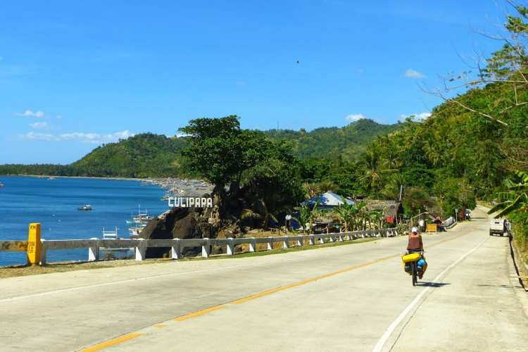 cycling Negros island, Visayas, Philippines