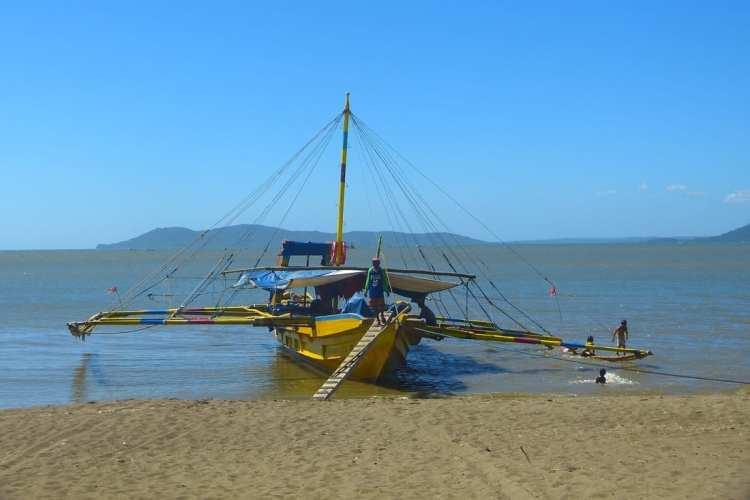 Guimaras Philippines pump boat
