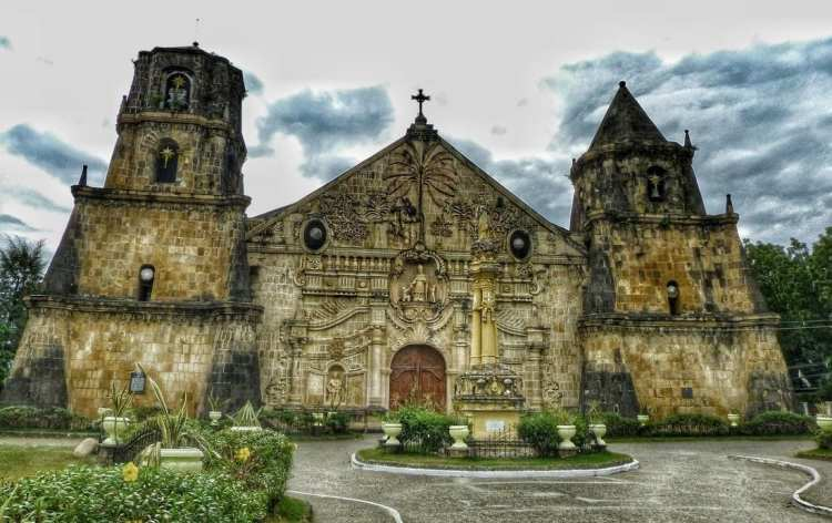 Sto. Tomas de Villanueva Parish Church / Fortress Church. Miagao, Panay.