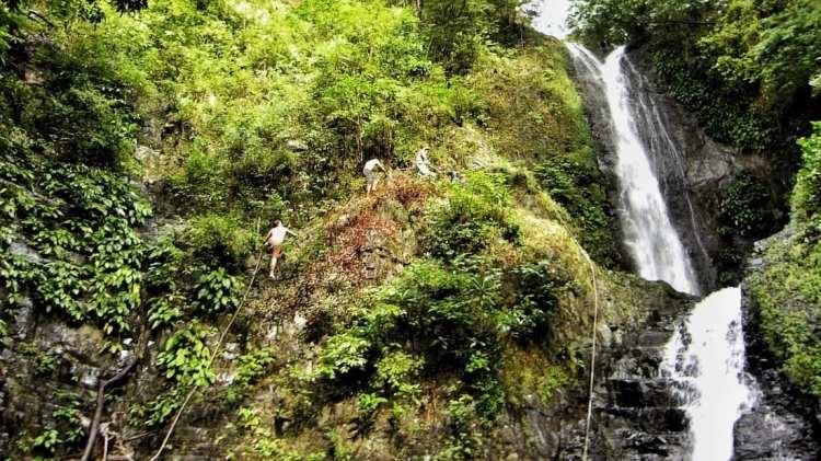 tourist spots Panay waterfall