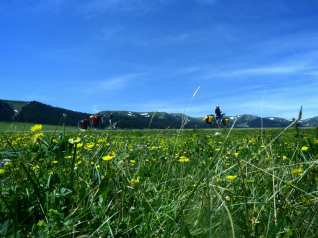 Cicloturismo in Xinjiang