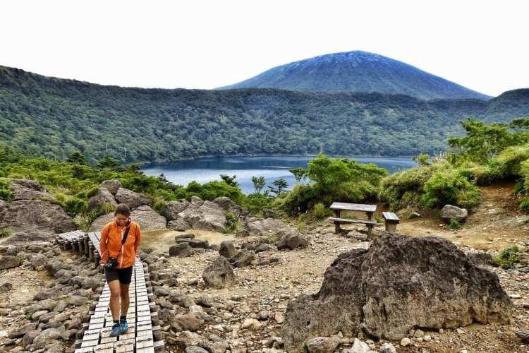 salita al lago Onami