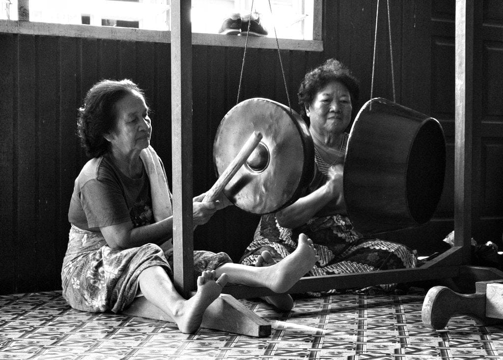 Iban music in Niah national park
