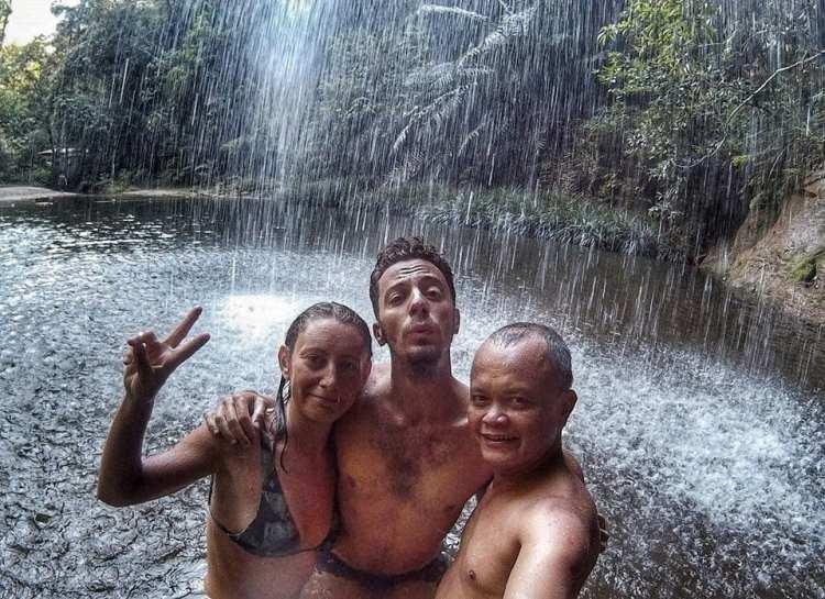 Lambir Hill National Park waterfall