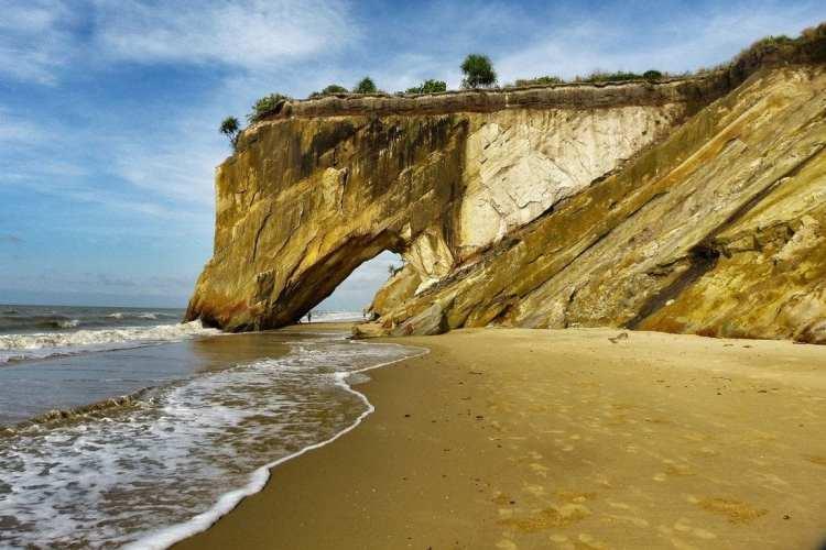la stupefacente bellezza di Tusan Beach, Miri