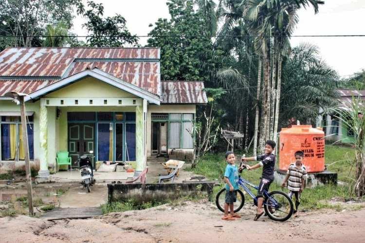 case Ovest Kalimantan