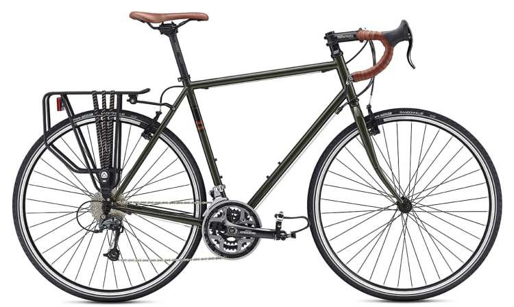 how to build touring bike from frame