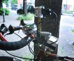 Electronic equipment bicycle touring