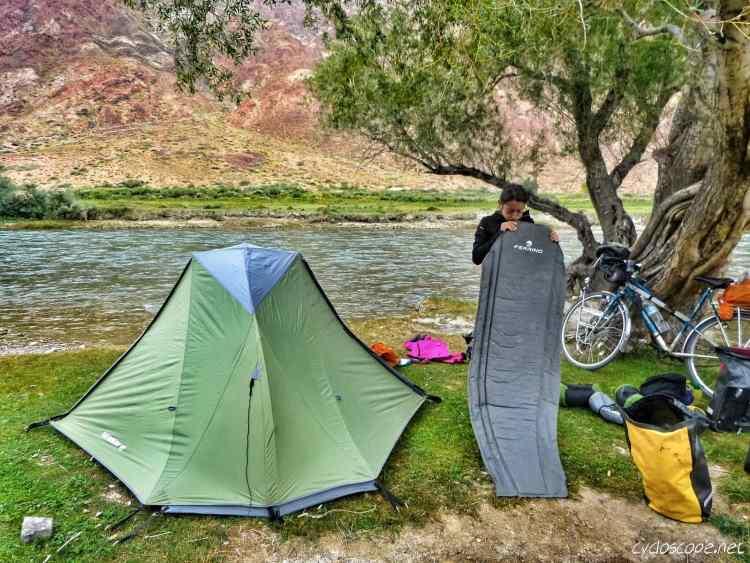 tenda cicloturismo