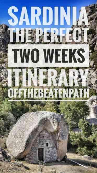 Sardinia two weeks itinerary 2