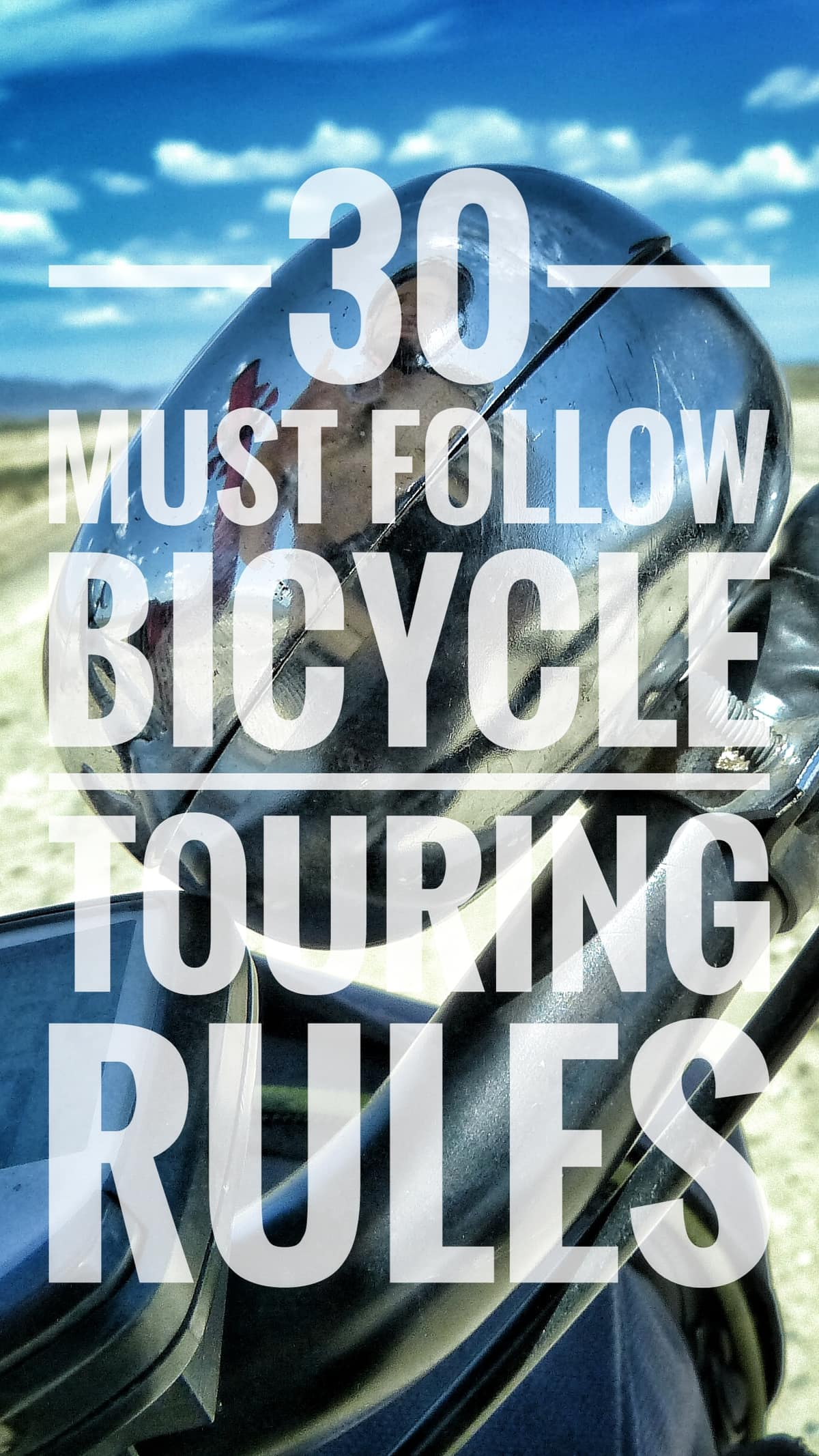 bicycle travel rules advice