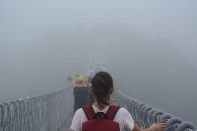 alto ponte sospeso Cina