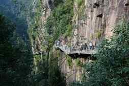 percorso paura Cina Zhjioang