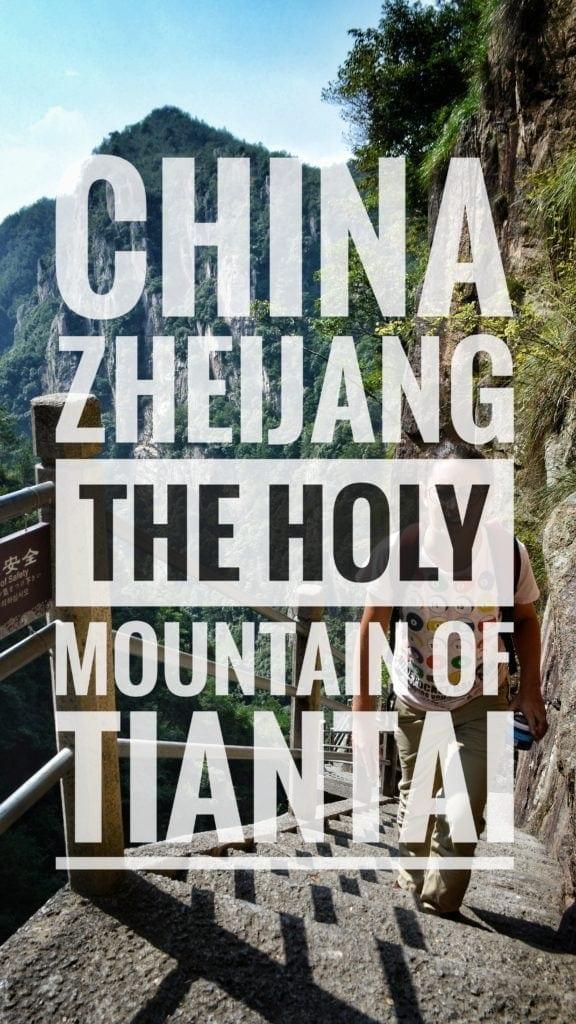 Holy mountain China