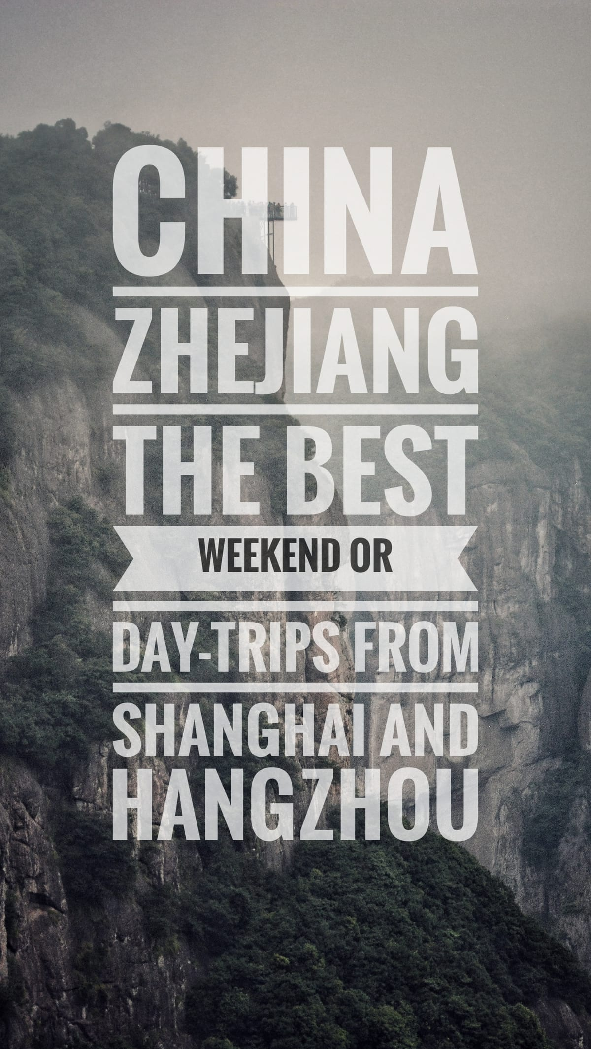 best weekend day trip shanghai hangzhou