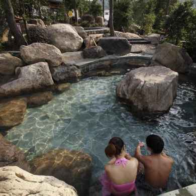 best hot springs shanghai