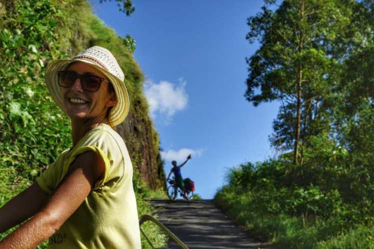 bicycle travel bali