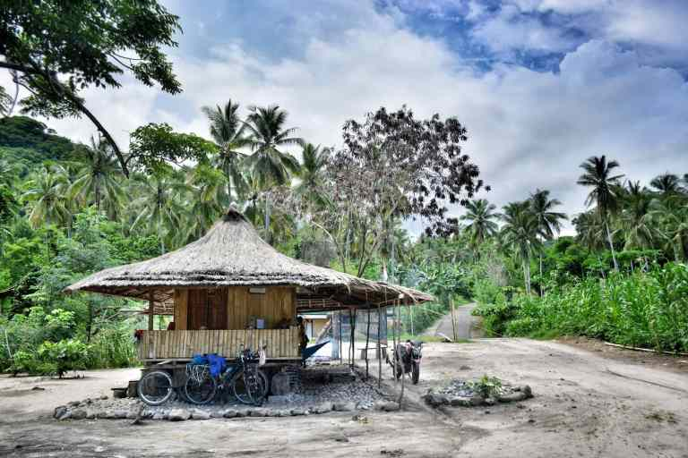 where to stay cycling indonesia