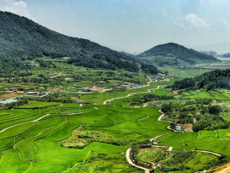 itinerario corea del sud