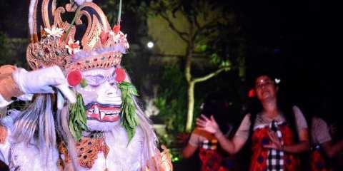 Ramayana Kecak where see
