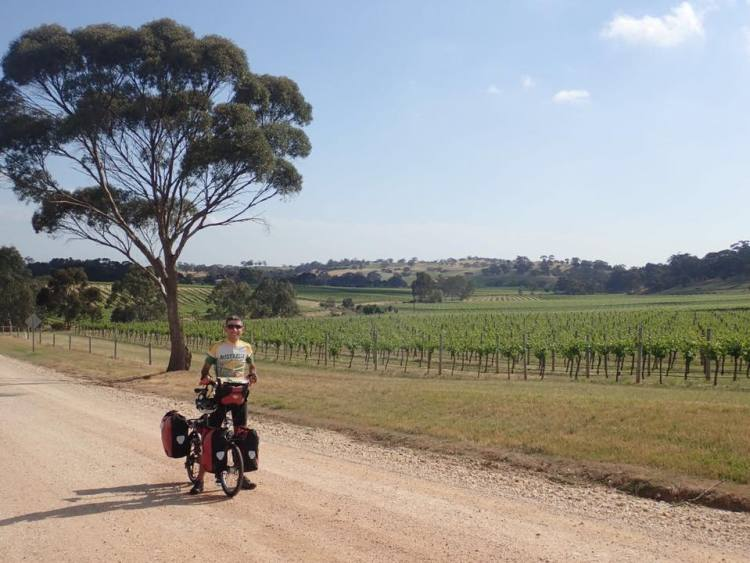australia bicycle trip easy itinerary