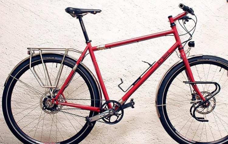 custom bike 47° Nord