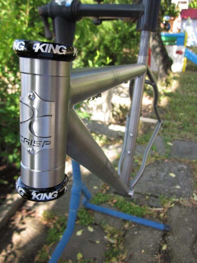 titanium bicycle made in italy Crisp touring