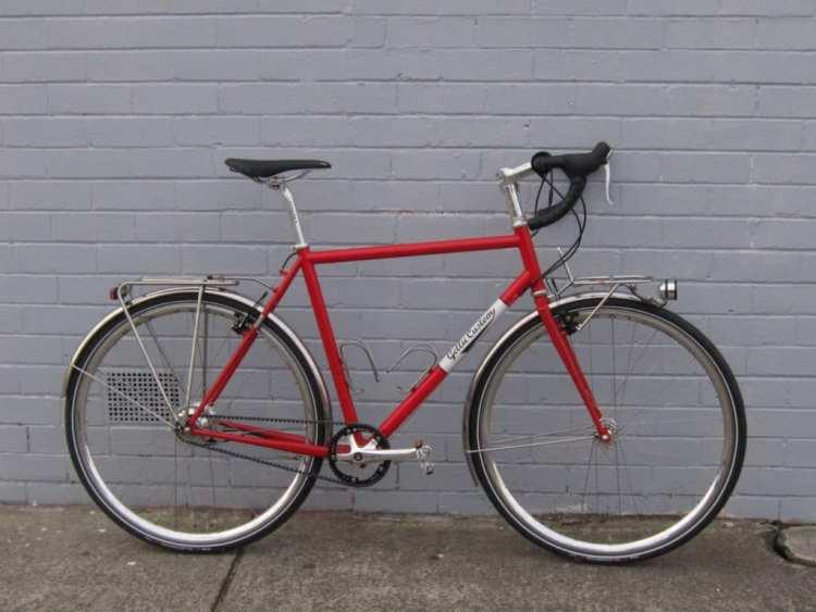 handmade bike gellie custom