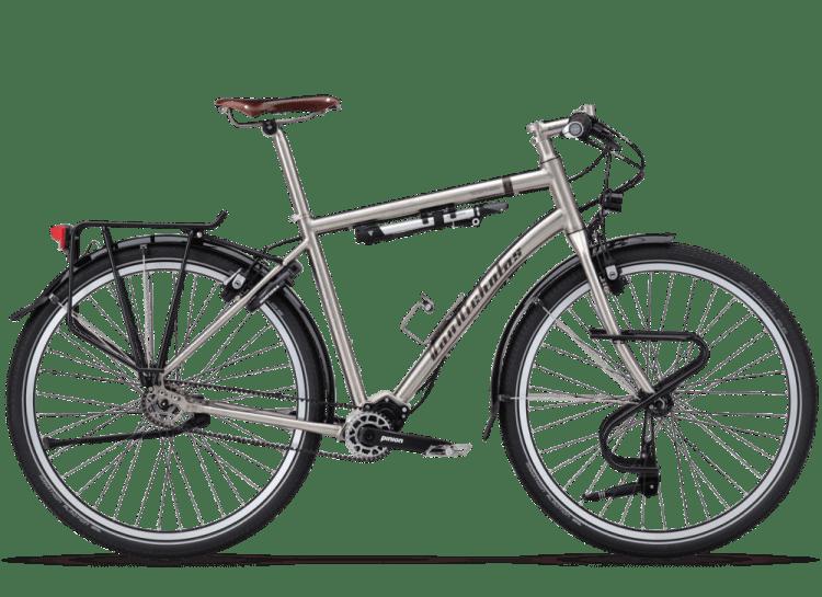 titanium bicycle van nicholas