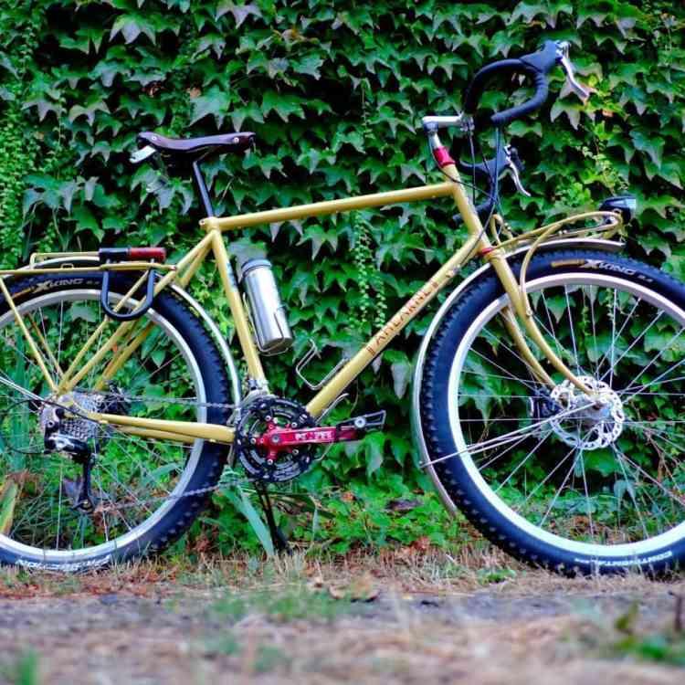 beautiful handmade bike frame