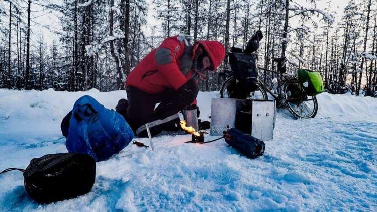 Campeggiare in inverno