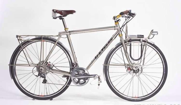 custom touring bicycles USA