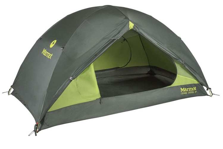 2 person Marmot Crane Creek Backpacking and Camping Tent