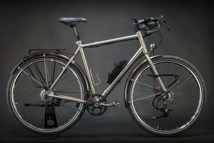 Pilot titanium touring bikes