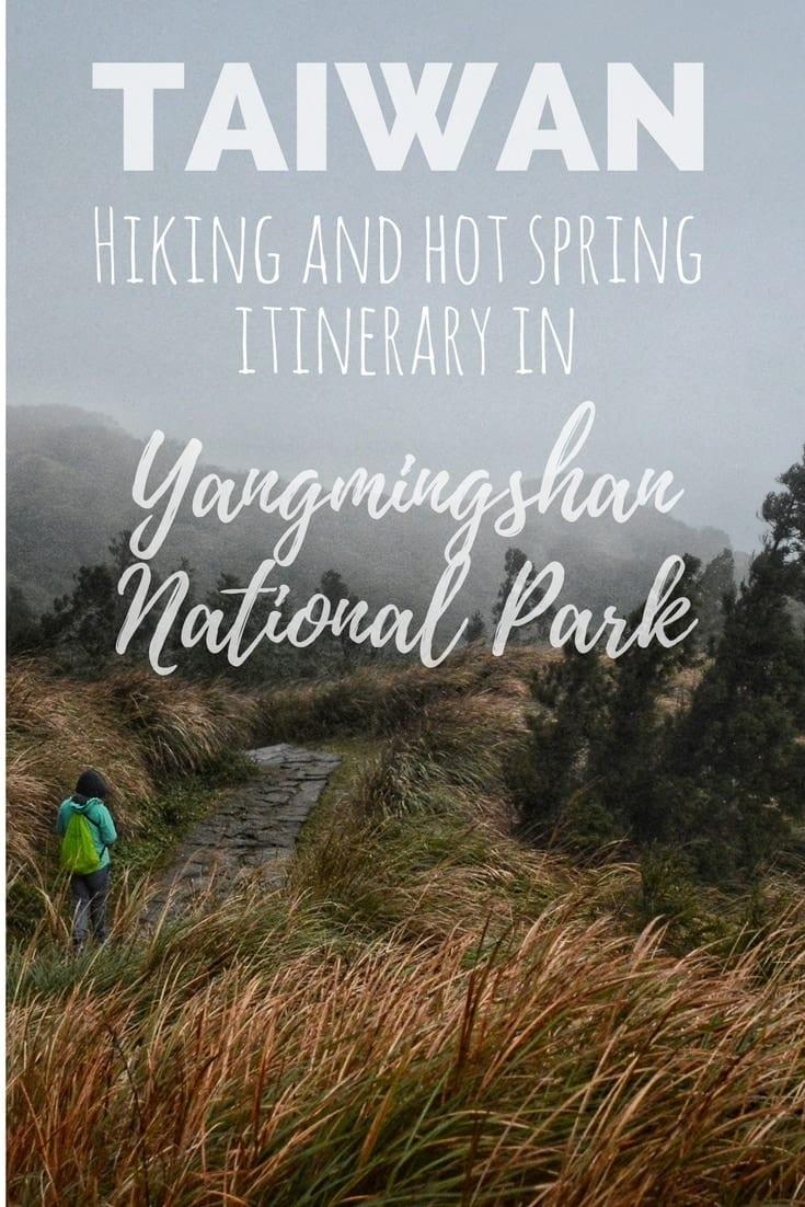 Yangmingshan Hot spring hiking itinerary