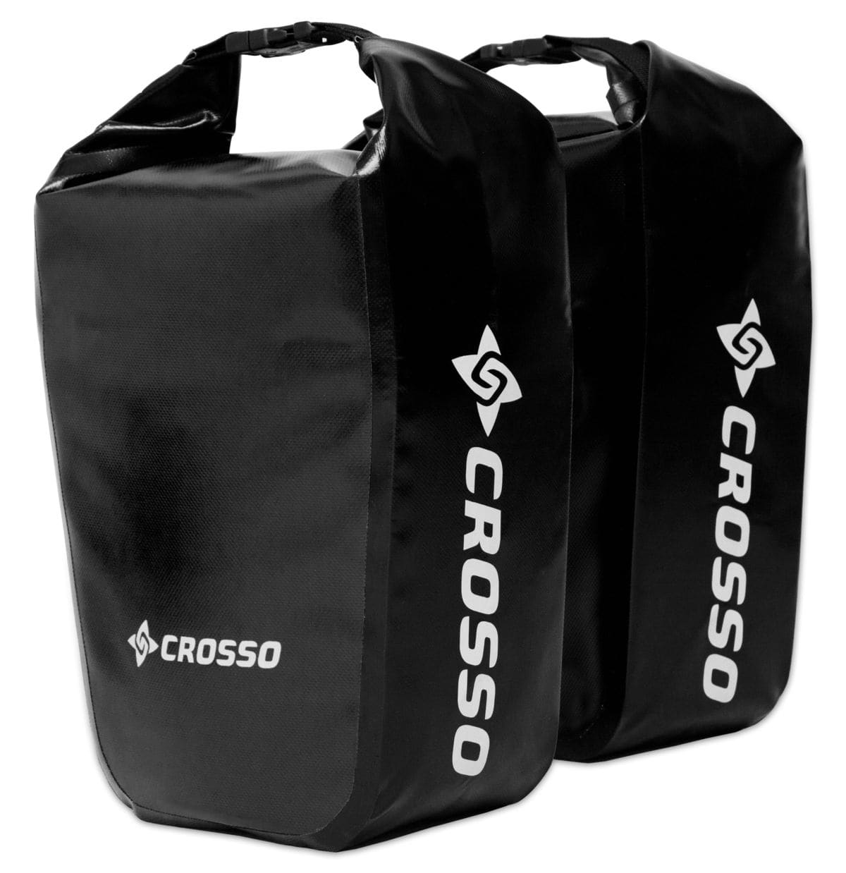 bicycle touring panniers Crosso Dry Review
