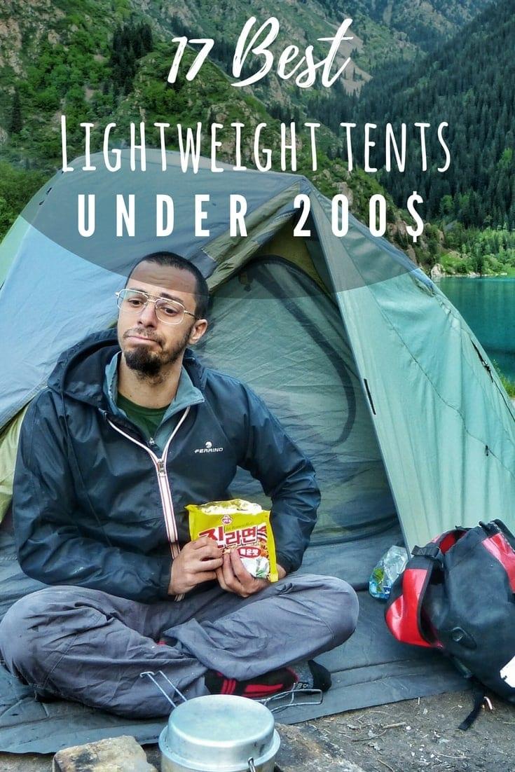 best budget lightweight tents